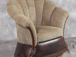 Swivel Accent Chairs by Furniture 43 Benettis Italia Accent Chair Swivel Rocker