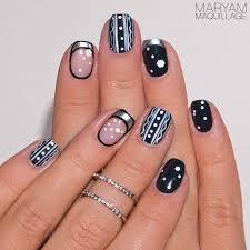 maryam maquillage nail art winter theme