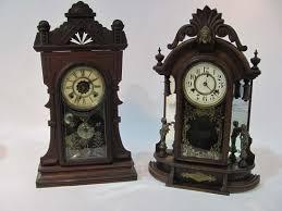 lot 209 135 shelf clocks jpg