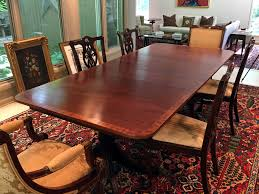 duncan phyfe style dining table brutal vintage specifications