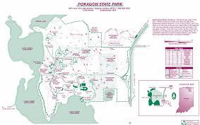 Angola Map Pokagon State Park Map Angola Indiana U2022 Mappery