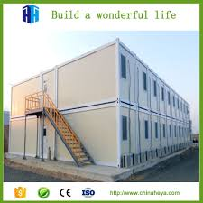 china cheap movable 2 storey prefabric container house for sale