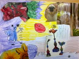 the talking walls dali collage art project for k 5