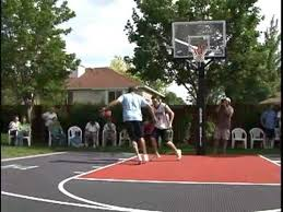 Backyard Sport Courts by Snapsports Deron Williams Nba Utah Jazz Plays On A Snapsports