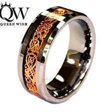 mens celtic wedding bands queenwish 6 8mm celtic tungsten carbide ring matching