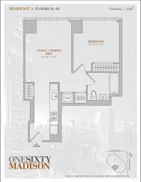 One Madison Floor Plans 160 Madison Rentals New York Ny Apartments Com