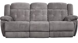 899 99 normandy gray power reclining sofa contemporary polyester