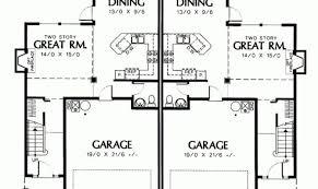 Duplex Townhouse Plans Smart Placement Two Storey Duplex House Plans Ideas Building