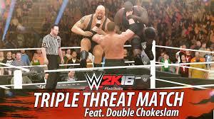 wwe 2k16 ps4 british bulldog vs x pac vs rikishi full match wwe 2k16 kane vs big show vs mark henry feat double chokeslam