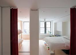 Movable Walls For Apartments Compact Smart Studio Apartment In Soho With Moving Wall