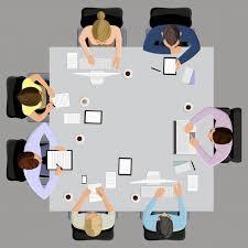 bureau reunion réunion de gestion des entreprises de bureau et brainstorming sur