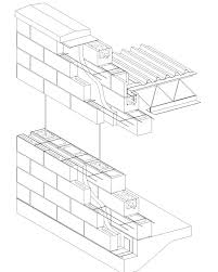 cavity wall concrete block veneer reinforced concrete block jpg