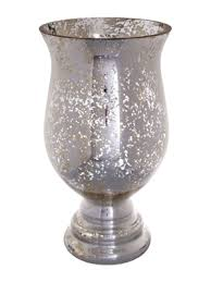 Hurricaine Vase Silver Mercury Glass U2013 Hurricane Vase U2013 Ultrapom Wedding And