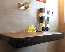 waschtisch design baqua flachwaschtisch die waschbecken ohne becken