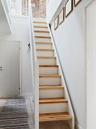 Small Staircase Ideas Incredible Narrow Staircase Design Steps To Saving Space 15