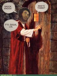Meme Painting - jesus fresco meme and the light of the world painting christian