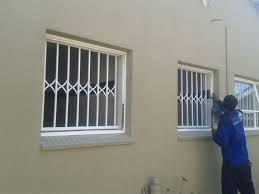 trellis doors u0026 burglar guards u2013 blue dk