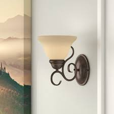 wall sconce with on off switch wayfair