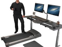 standing computer desk amazon awesome standing treadmill desk amazon com trekdesk walking and with