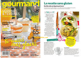 gourmand magazine cuisine revue de presse sans gluten cie 19