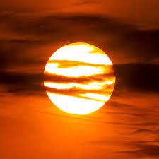 Sunset Orange by Latest Sunsets Follow Summer Solstice Tonight Earthsky