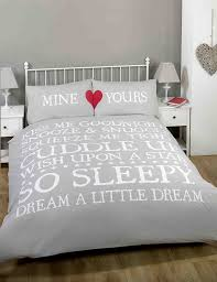 made with love mine and yours love heart duvet cover quilt bedding