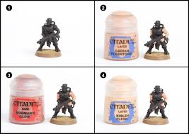 tutorial how to paint chaos cultists from dark vengeance tale