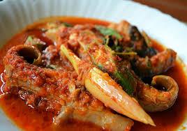 cuisine n駱alaise cuisine malaise asam pedas ikan pari photo stock image du