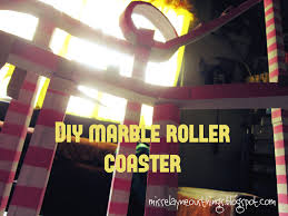 im a proud crafter diy science project marble roller coaster