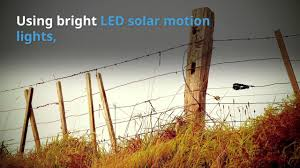 Solar Lights On Fence Posts by Solar Lights For Fence Posts Complement Your Ranch Or Farm Youtube