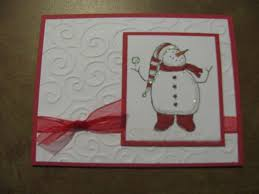 christmas handmade christmas cards pinterest card ideas stampin