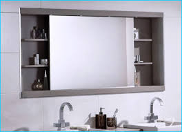 bathroom mirror cabinet ideas fetching large wall bathroom cabinets mounted with mirror set