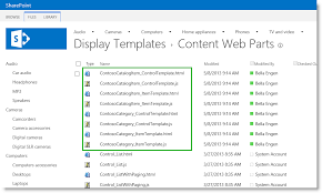 stage 11 upload and apply display templates to the content search