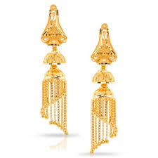 gold jhumka earrings 19 jhumkas gold earrings designs buy jhumkas gold earrings price