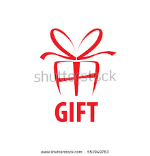 Vector Logo Box Gifts Stock Vector 551949763
