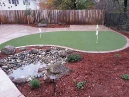 Small Yard Landscaping Roseville CA Photo Gallery - Backyard river design