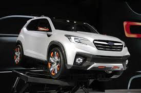 subaru viziv truck subaru viziv future concept looks great drives itself autoguide