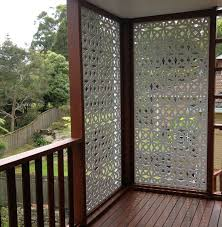 Backyard Privacy Screen by Best 25 Balcony Privacy Ideas On Pinterest Balcony Curtains