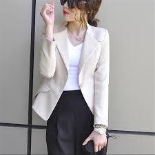 femme bureau blazer ol style femmes bureau costume de mode slim fit femme