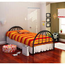 brooklyn black twin bed free shipping today overstock com