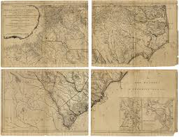 North Carolina Map Map South Carolina 1775 Historic Map Showing North Carolina And