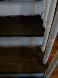 hazardous design refinishing the stairs part 2 or how i fixed a