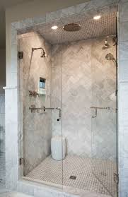 best 25 double shower ideas on pinterest bathroom shower heads love this marble herringbone shower source marble tiles like this from mandarin stone
