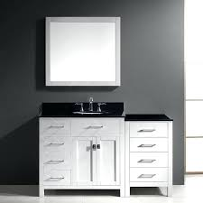 Bathroom Vanity With Top Combo Bathroom Vanity With Top And Mirror Parkway Single Bathroom Vanity