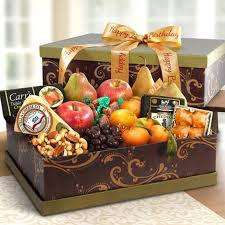 cheese gift box sonoma happy birthday ultimate fruit and cheese gift box ag3100b