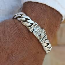 silver chain bracelet men images High class bracelet vy jewelry jpg