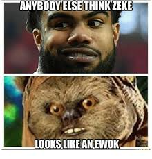 Ewok Memes - anybody think zeke else looks like an ewok meme on me me