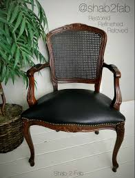 Refinishing Cane Back Chairs French Armchair With Cane Back Guest Post Country Chic Paint