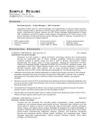 Sample It Manager Resume by Download It Sample Resumes Haadyaooverbayresort Com