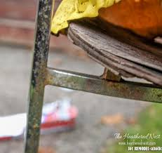 Remove Rust From Metal Furniture by Remodelaholic How To Restore Rusty Chrome